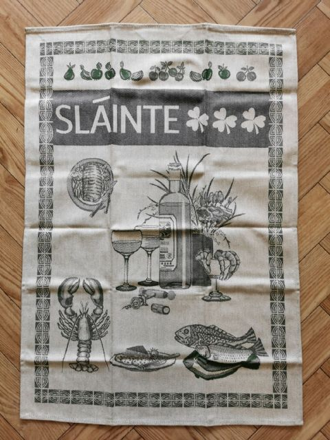 Slainte Tea Towel